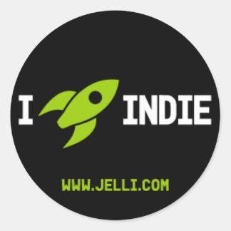 I Rocket Indie Sticker