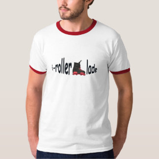 i-rollerblade Mens 100% Cotton T-shirt