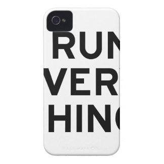 I Run Every Thing iPhone 4 Cover