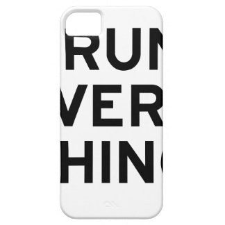 I Run Every Thing iPhone 5 Cover