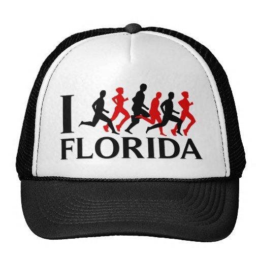 I RUN FLORIDA MESH HAT
