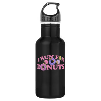 I run for donuts runner 532 ml water bottle
