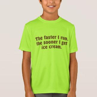 I Run for Ice Cream T-Shirt
