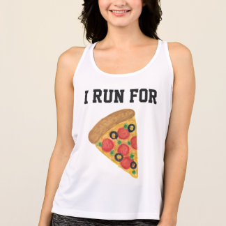 I Run For Pizza Singlet