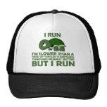 I Run. I'm Slower than a Turtle But I Run Cap