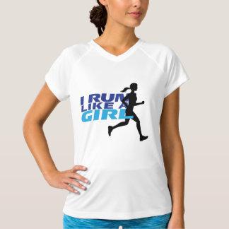 I Run Like A Girl Shirt
