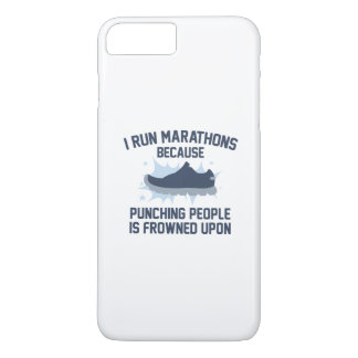 I Run Marathons iPhone 8 Plus/7 Plus Case