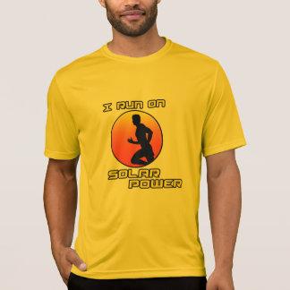 I Run on Solar Power T-Shirt