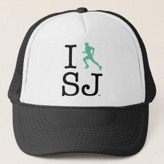 I Run SJ Trucker Trucker Hat