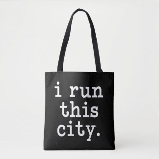 i run this city. runner bag