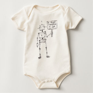 I Rust, Therefore, I Am... Baby Bodysuit