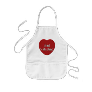 I Sad Valentines Day T-shirts and Gifts Kids Apron