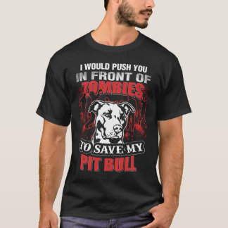 I Save my Pit Bull T-Shirt