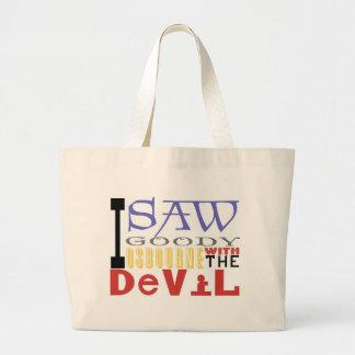 I Saw Goody Osbourne w/ The Devil Tote Bag