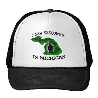 I Saw Sasquatch In Michigan Cap