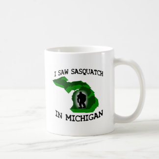 I Saw Sasquatch In Michigan Mug