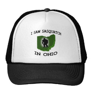 I Saw Sasquatch In Ohio Hat