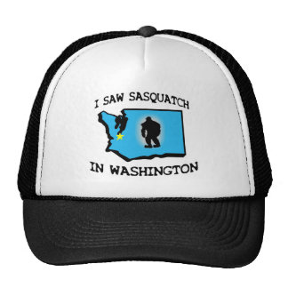 I Saw Sasquatch In Washington Trucker Hat