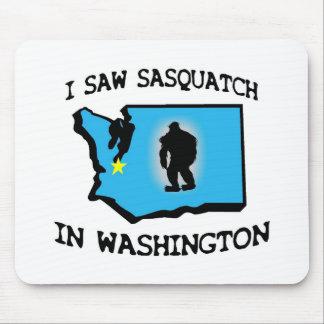 I Saw Sasquatch In Washington Mouse Pad