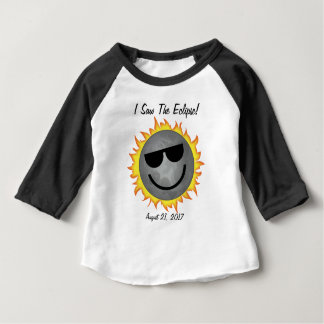 I Saw The Eclipse Baby T-Shirt