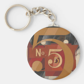I Saw the Figure 5 in Gold Key Ring