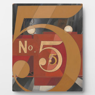 I Saw the Figure 5 in Gold Plaque