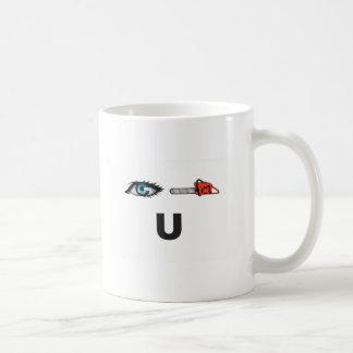 i saw you coffee mug