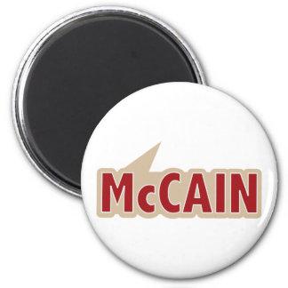 I Say Vote McCain 6 Cm Round Magnet