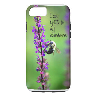 I say YES to my abundance iPhone 7 Case