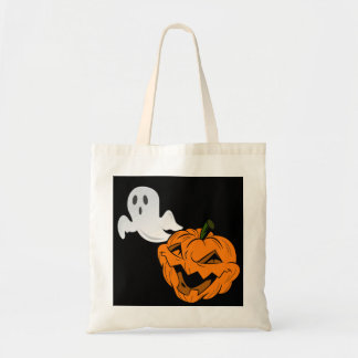I Scare Ghosts Halloween Tote Bag