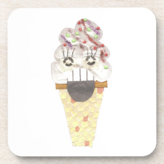 I Scream Cork Coasters