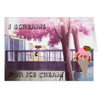 I Scream for Ice Cream Starlet Card