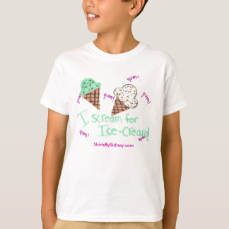 I Scream for Ice-Cream T-Shirt