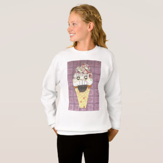 I Scream Girl's Jumper Sweatshirt