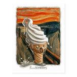 I Scream Ice cream Postcards