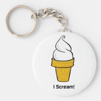 I Scream Key Ring