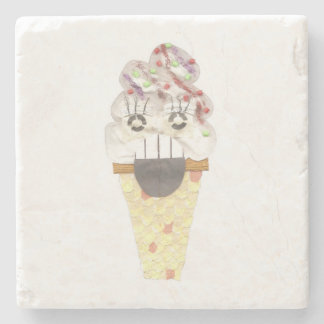 I Scream Marble Coaster