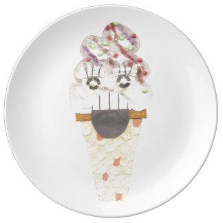 I Scream Porcelain Plate