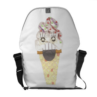 I Scream Rusksack Messenger Bag