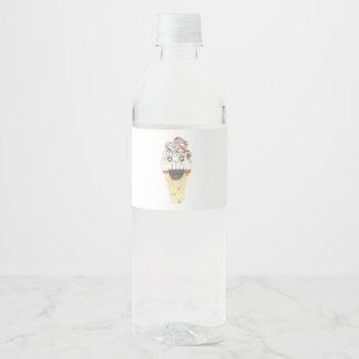 I Scream Water Bottle Labels