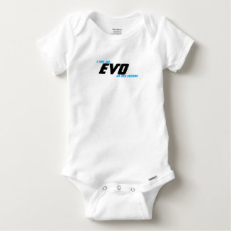 I see an EVO in my future Baby Onesie