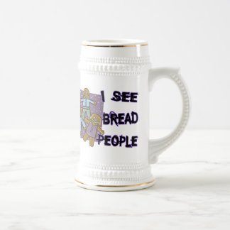 I See Bread People Mug