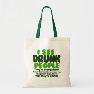 I See Drunk People Bags