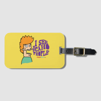 I See JCAHO People Luggage Tag