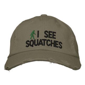 I see squatches baseball cap