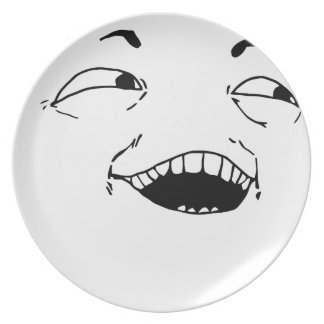 I see what you did there - meme party plates