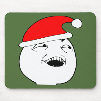 i see what you did there xmas meme mousepads