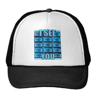 I See You Eye Ball Television Cap