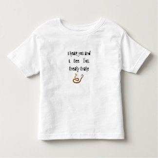 I see you, Sneaky Snake Toddler T-Shirt