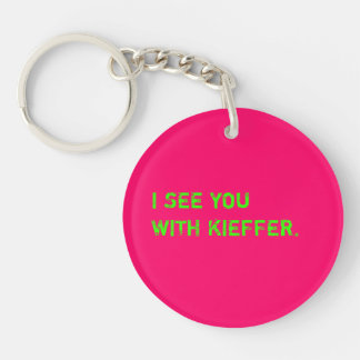 I See You With Kieffer Key Ring